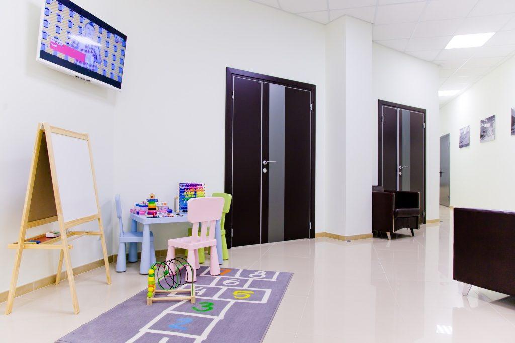 Детское отделение в клинике
