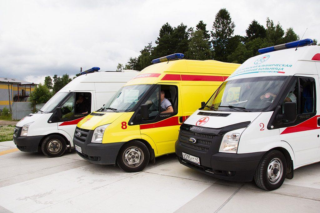 Доступные кареты скорой помощи