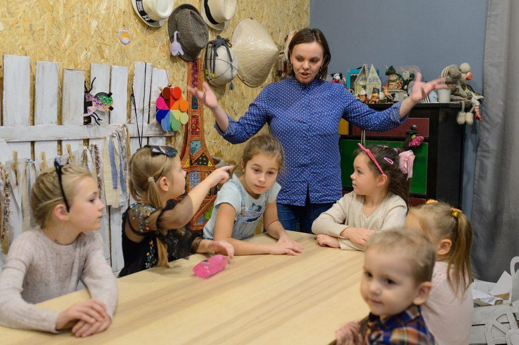 Дети всегда в восторге от интересных занятий
