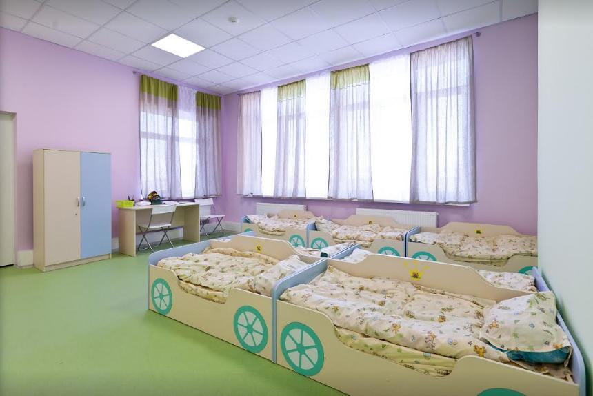 Спальни детей в детском саду