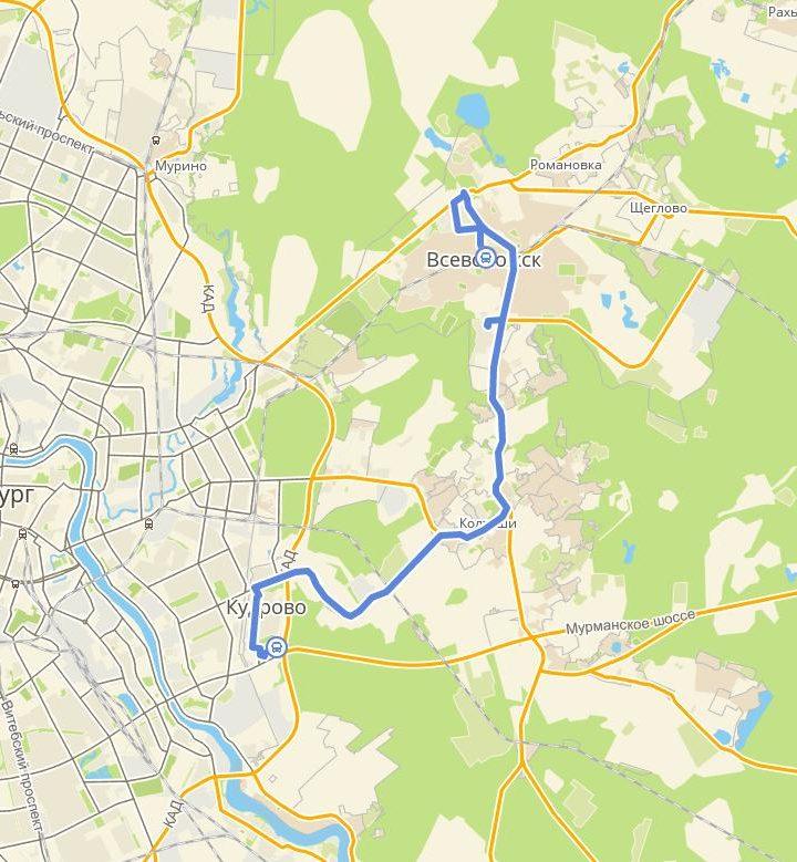 Полный маршрут