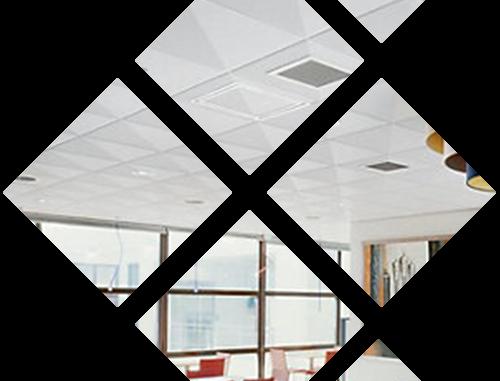 Профессиональный монтаж потолка